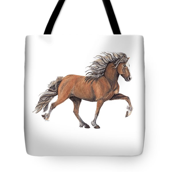 Tote Bag featuring the painting Elska by Shari Nees