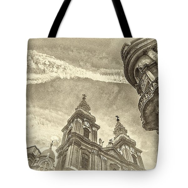 Elte State University Building Budapest Tote Bag