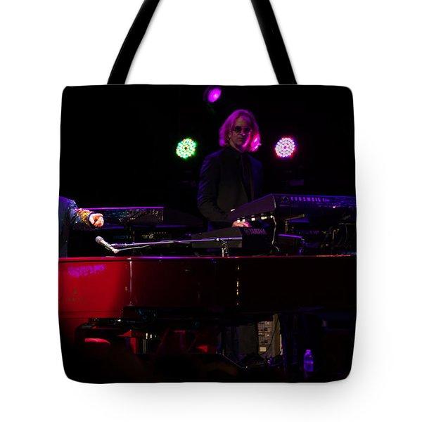 Elton - Enjoying The Show Tote Bag