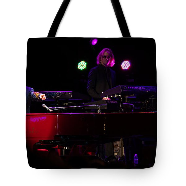 Elton - Enjoying The Show Tote Bag