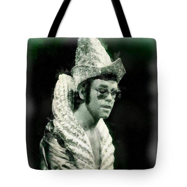 Elton John By John Springfield Tote Bag