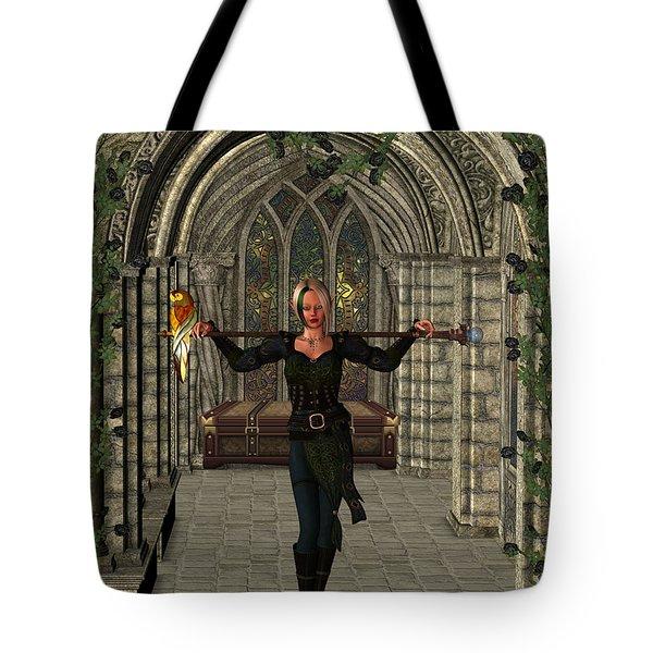 Elvin Hallway Tote Bag