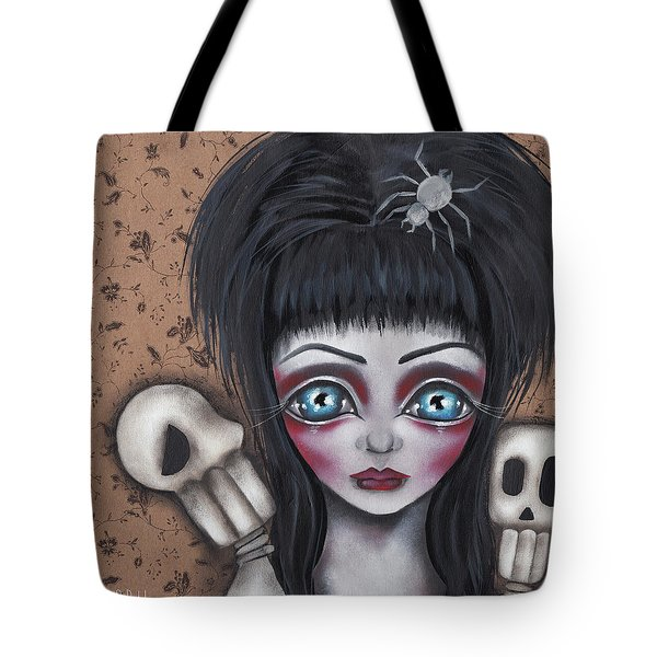 Elvira Tote Bag by Abril Andrade Griffith