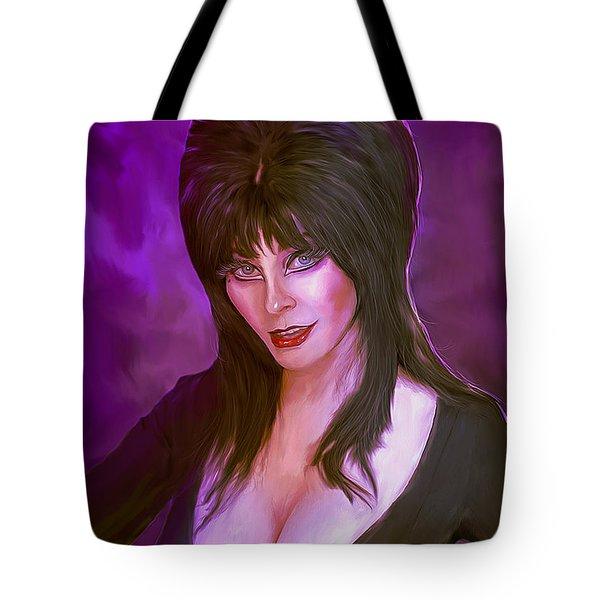 Elvira Mistress Of The Dark Tote Bag