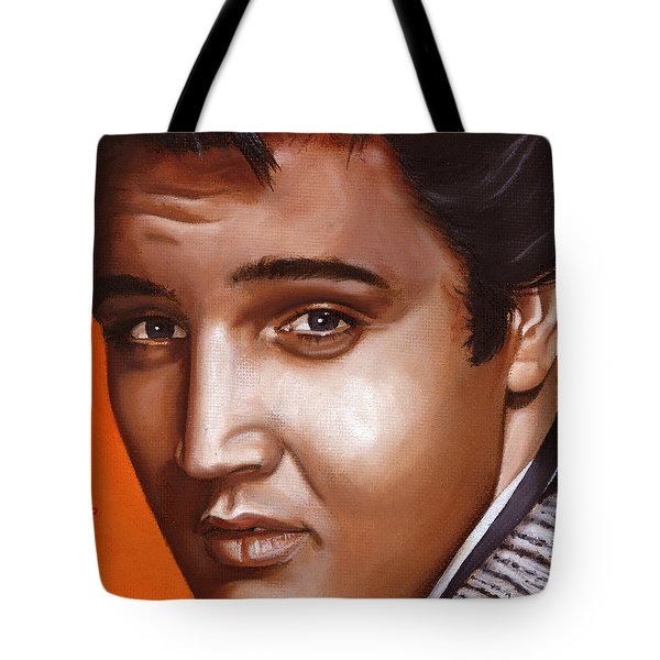 Elvis 24 1957 Tote Bag by Rob De Vries