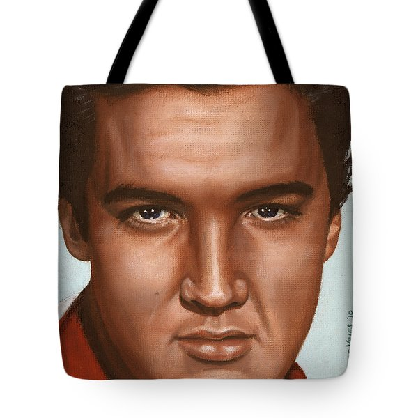 Elvis 24 1958 Tote Bag by Rob De Vries