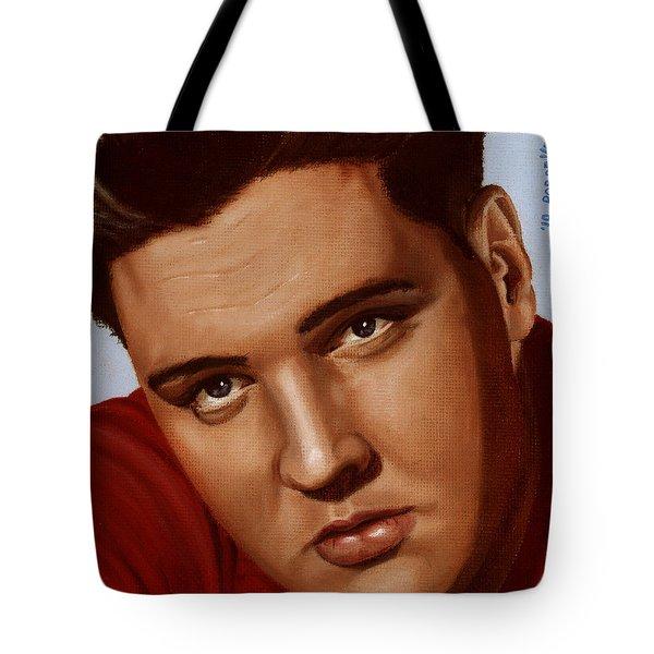 Elvis 24 1959 Tote Bag by Rob De Vries