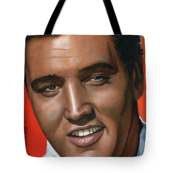 Elvis 24 1961 Tote Bag by Rob De Vries