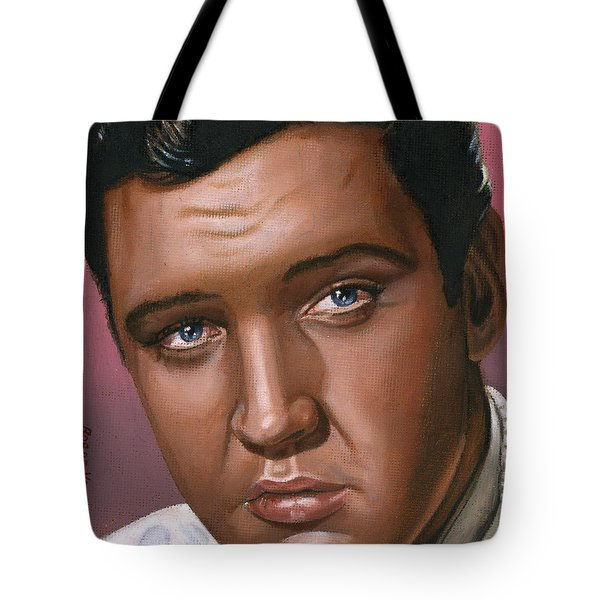 Elvis 24 1962 Tote Bag