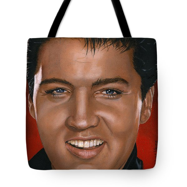 Elvis 24 1964 Tote Bag by Rob De Vries