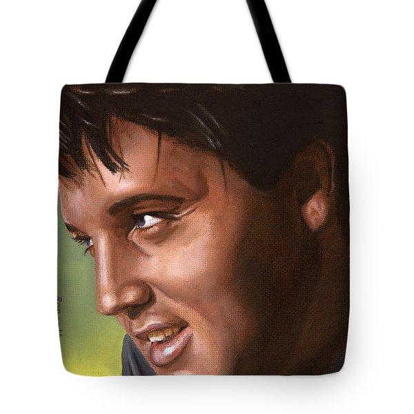 Elvis 24 1966 Tote Bag by Rob De Vries