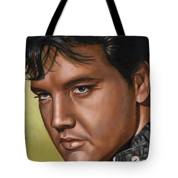 Elvis 24 1967 Tote Bag by Rob De Vries