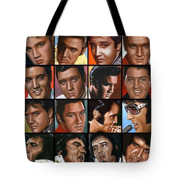 Elvis 24 Tote Bag