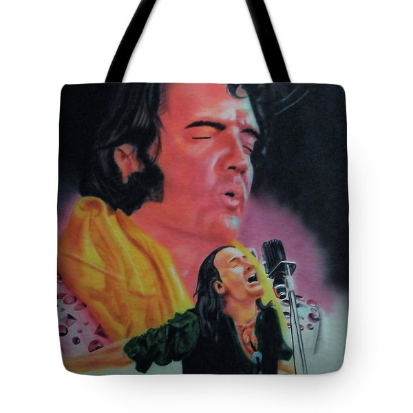 Elvis And Jon Tote Bag