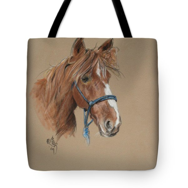 Elvis At The Morgan Horse Ranch Of Prns Tote Bag