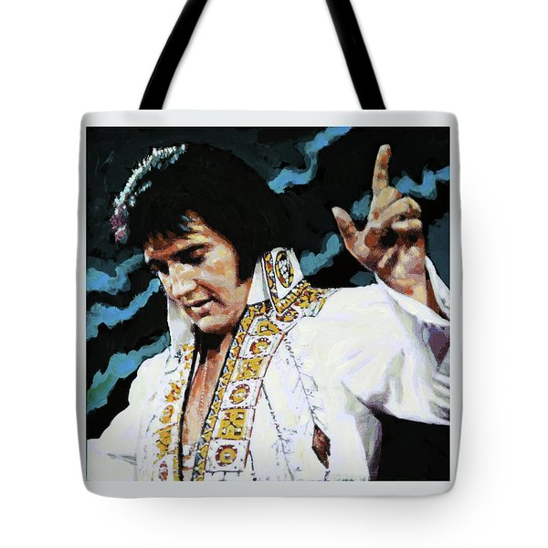 Elvis - How Great Thou Art Tote Bag