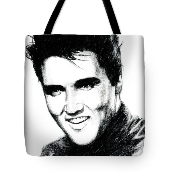 Elvis Tote Bag by Lin Petershagen