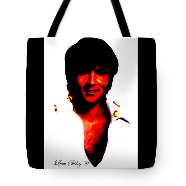 Elvis By Loxi Sibley Tote Bag