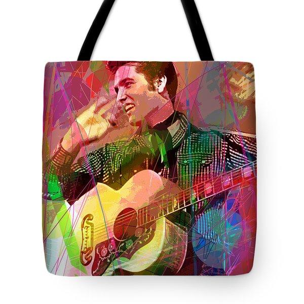Elvis Rockabilly  Tote Bag
