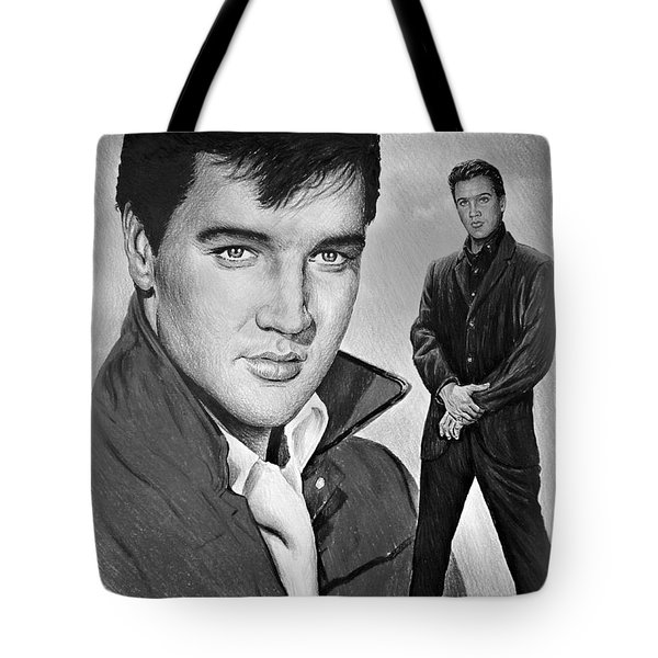 Elvis Roustabout Tote Bag