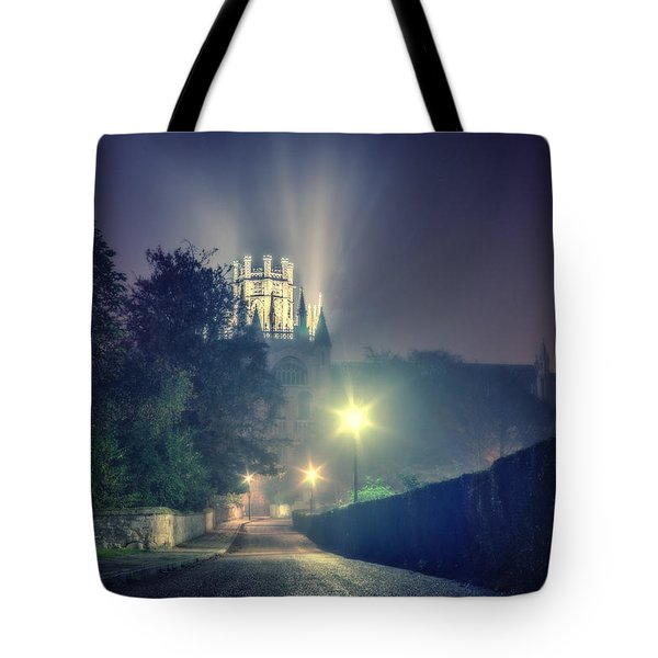 Tote Bag featuring the photograph Ely Cathedral - Night by James Billings