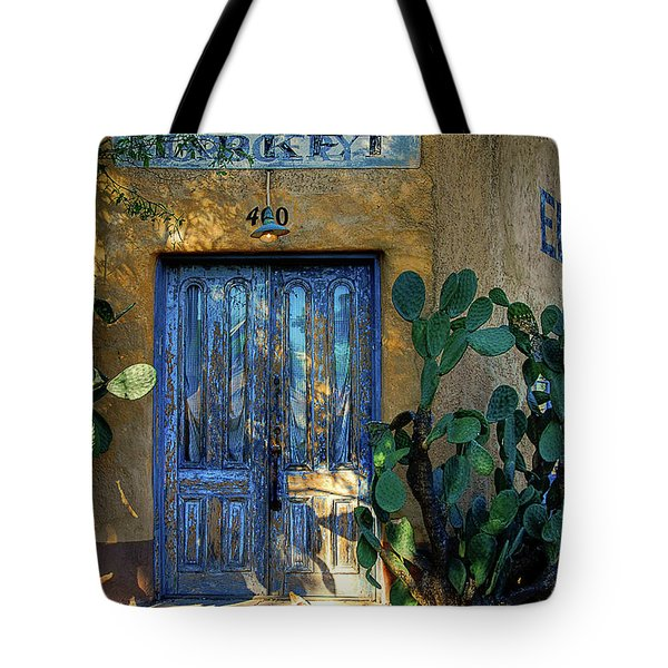 Elysian Grove In The Morning Tote Bag by Lois Bryan