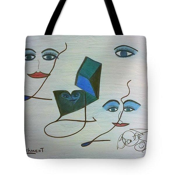 Embellishment Tote Bag