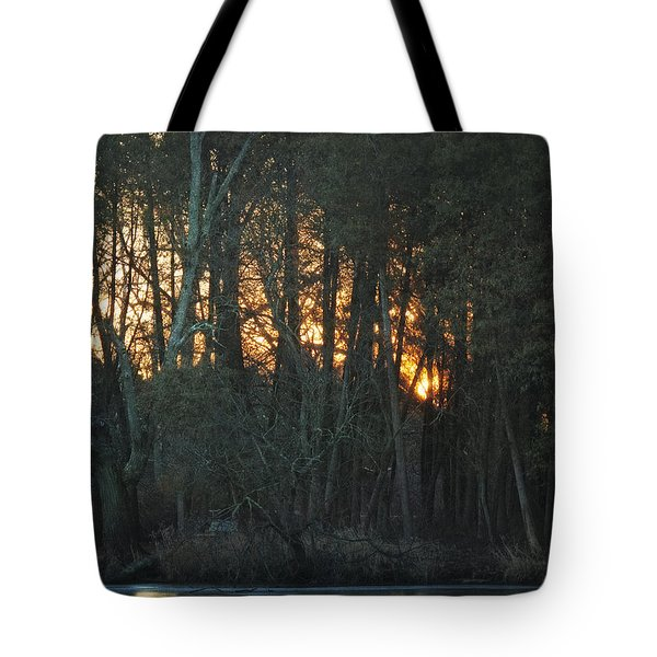 Embers Of The Waking Sun Tote Bag