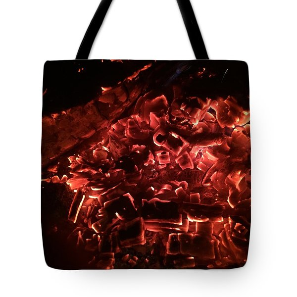 Embers On The Bay Tote Bag