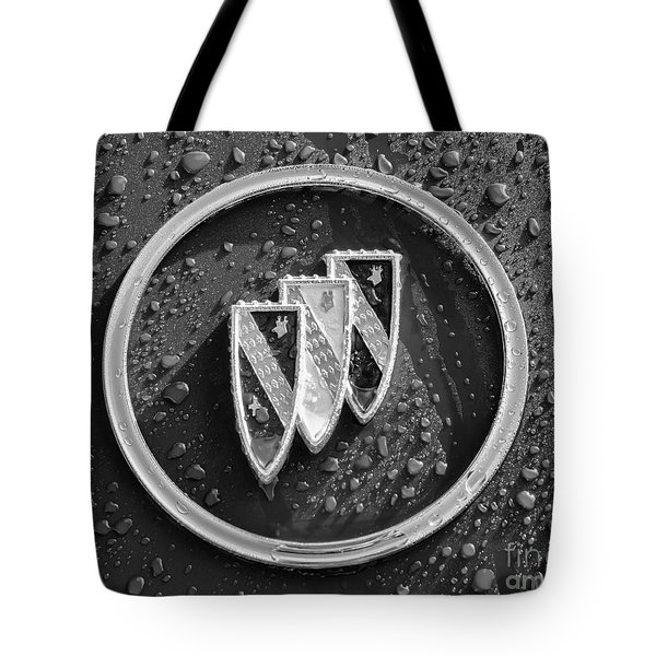 Tote Bag featuring the photograph Emblem Mono by Dennis Hedberg
