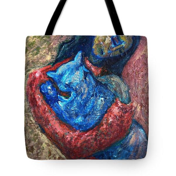 Embrace II Tote Bag