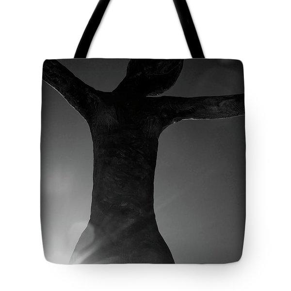 Embrace Tote Bag by Lisa Knechtel