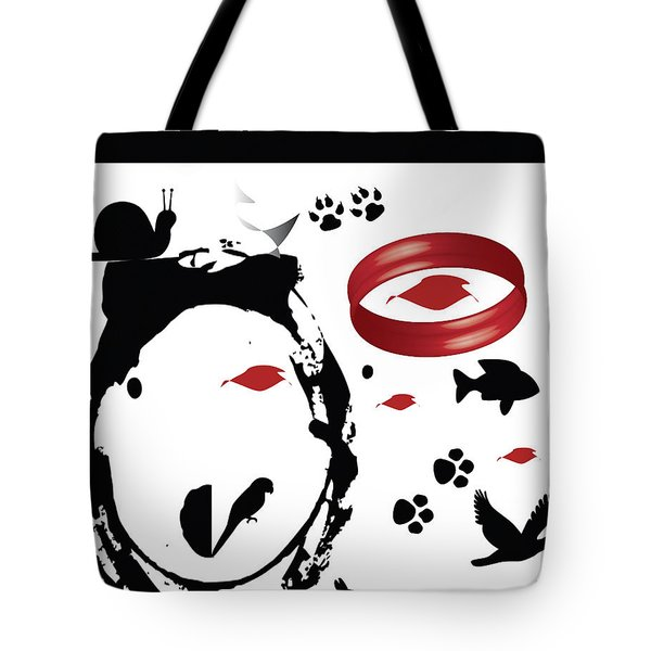 Embrace Your Natural Creations Tote Bag