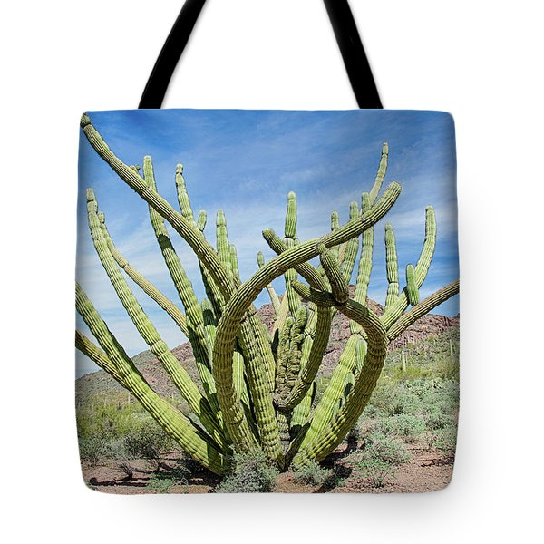 Embracing The Cristate Tote Bag