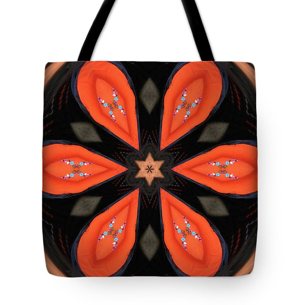 Embroidered Cloth Tote Bag