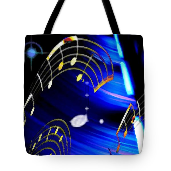 Tote Bag featuring the digital art Emc2 by Ken Walker