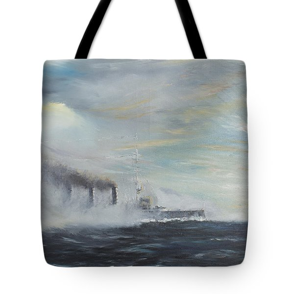 Emden The Swan Of The East Tote Bag