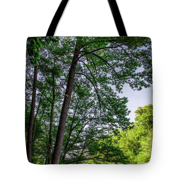 Emerald Afternoon Tote Bag