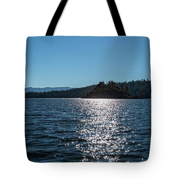 Emerald Bay - Panorama Tote Bag