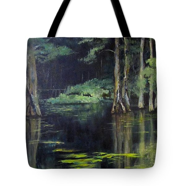 Emerald Bayou Tote Bag