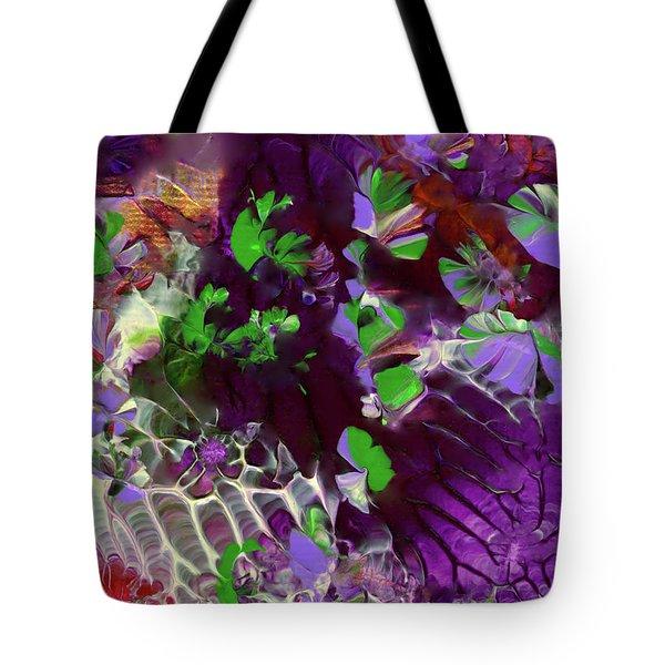 Emerald Butterflies Of Costa Rica Tote Bag