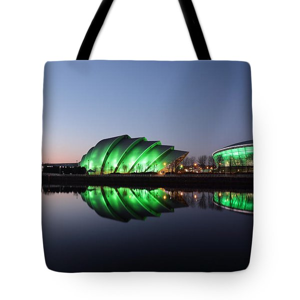 Tote Bag featuring the photograph Emerald City by Grant Glendinning