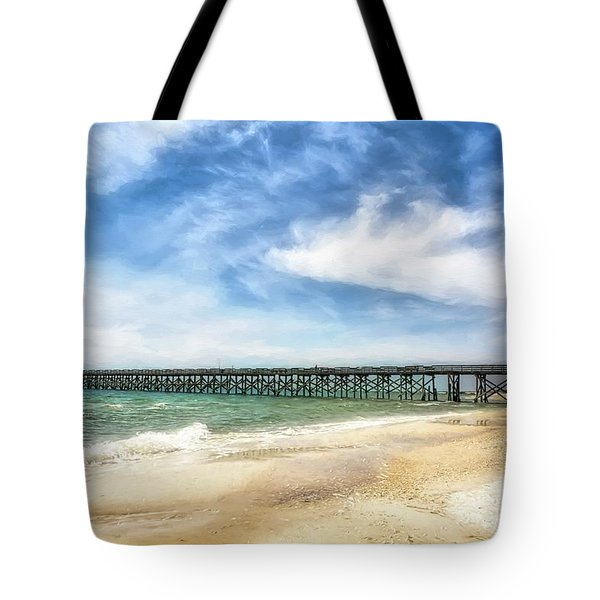 Tote Bag featuring the photograph Emerald Coast Dreams by Mel Steinhauer