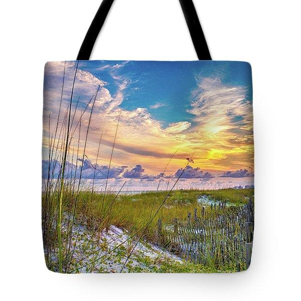 Emerald Coast Sunset Tote Bag