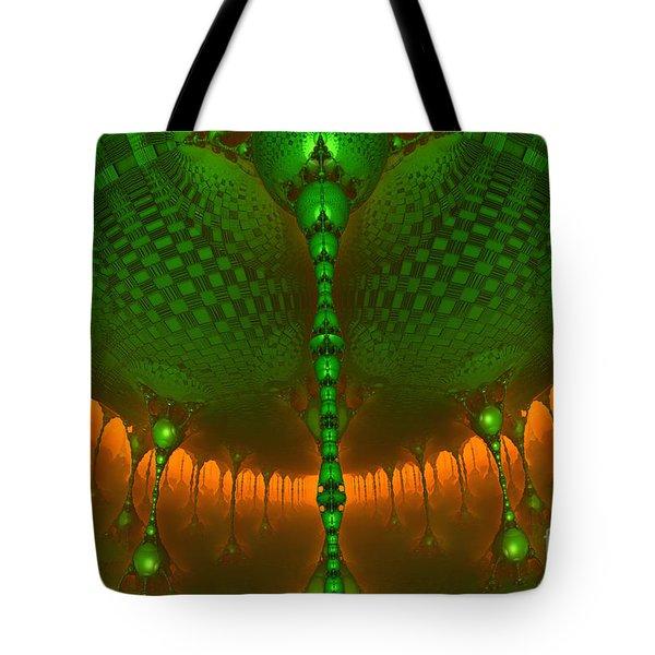 Emerald Dew Tote Bag