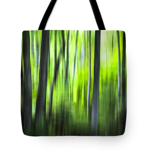Green Forest - North Carolina Tote Bag