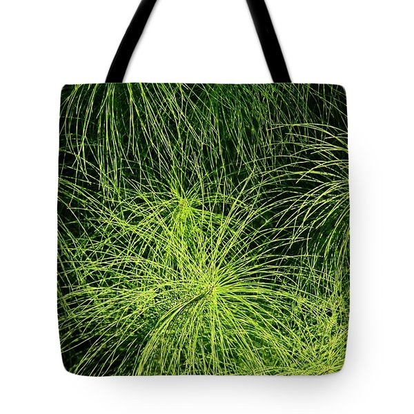 Emerald Explosion Tote Bag by Winston Rockwell