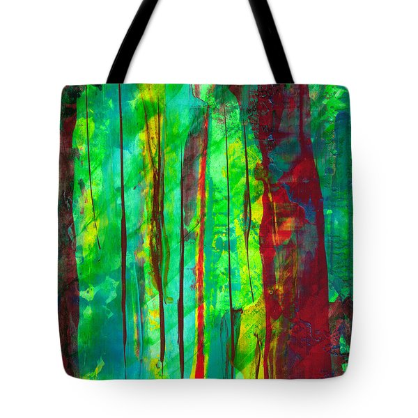 Emerald Forest Tote Bag