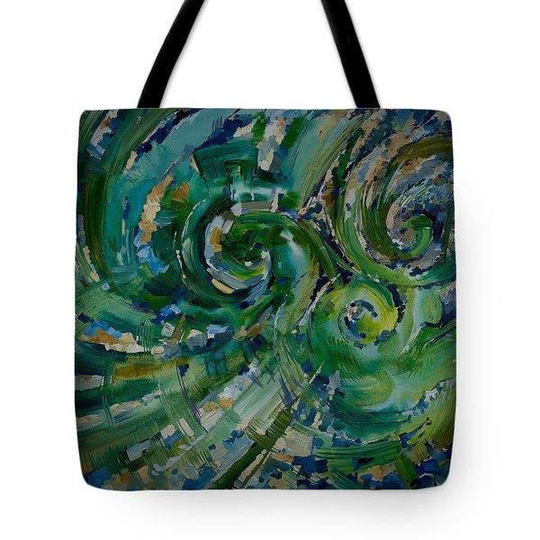 Emerald Green Tote Bag