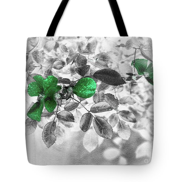 Emerald Green Of Ireland Tote Bag